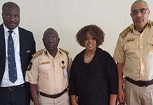 Nigeria Immigration Service Deputy Controllers Abuja, Nigeria 2017.